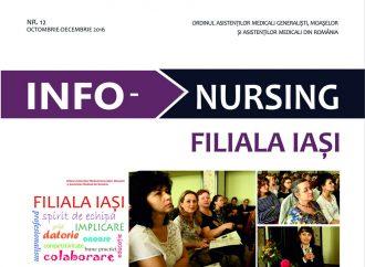 """IAŞI:. """"Info-nursing"""", numărul 12"""
