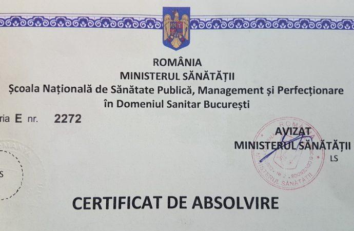 IAŞI:. Ridicaţi-vă certificatele pentru a doua specializare!