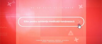 """Comunicat de presă  – Proiectul """"Elite pentru asistența medicală românească!"""""""