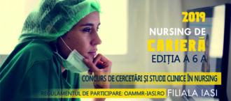"""IAŞI:. """"Nursing de carieră"""", ediţia a șasea"""