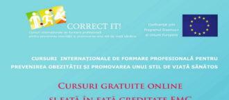 IAŞI:. Credite EMC prin proiectul CORRECT IT!