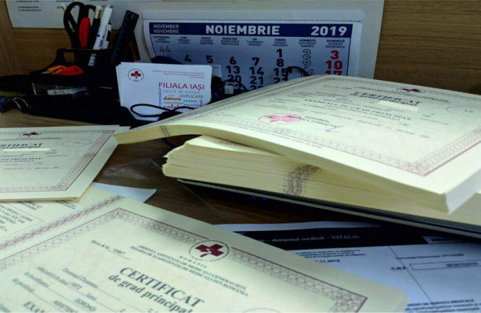 Certificatele de grad principal 2021